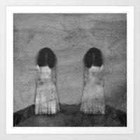 Two Sisters II Art Print