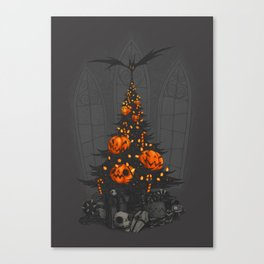 I'm Dreaming of a Dark Christmas Canvas Print