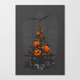 I'm Dreaming of a Dark Christmas Canvas Print