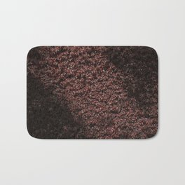 Autumn's red hedge Bath Mat