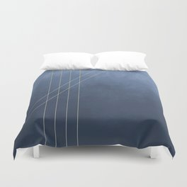 Moods in Blue-Gray Duvet Cover