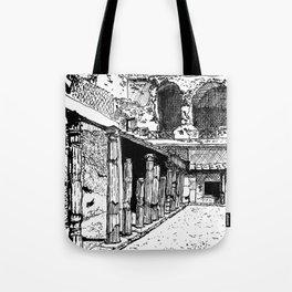 Herculaneum Courtyard Tote Bag