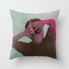 Between Rivers, 19 No.1 Throw Pillow
