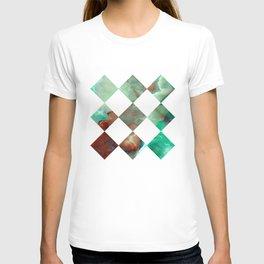 MARBLED ONYX & GEOMETRIC I T-shirt