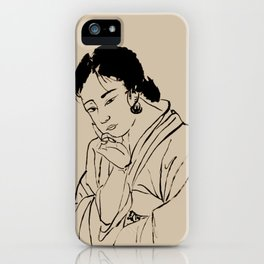 Lady Elegance iPhone Case