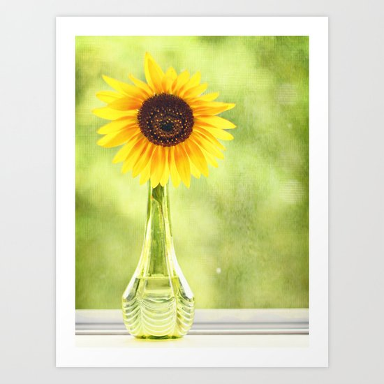 soak up the sun Art Print