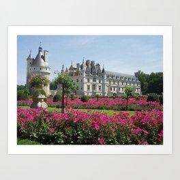 Château de Chenonceau Art Print