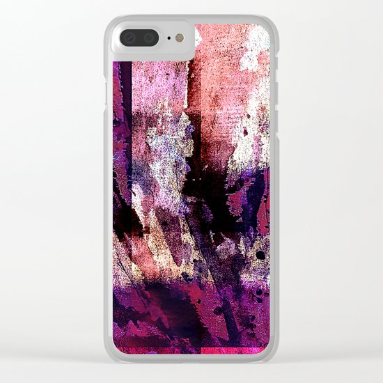 lights in the dark II Clear iPhone Case