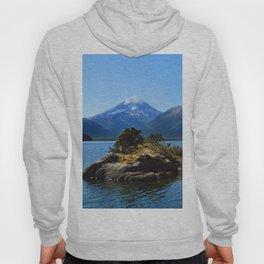 Lanin volcano. Patagonia Hoody
