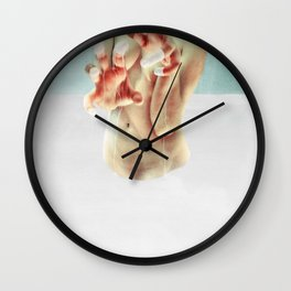 Paint or Die Trying Wall Clock