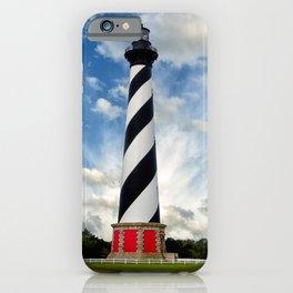Cape Hatteras Lighthouse Coastal Landscape Photograph iPhone Case