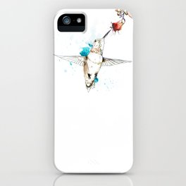 Hum iPhone Case