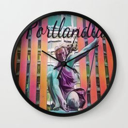 Portlandia Wall Clock