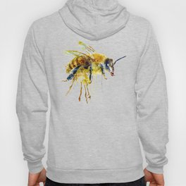 Watercolor Bee Hoody