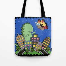 Monstrous Friendship Tote Bag
