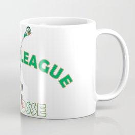 Beer League Lacrosse Coffee Mug