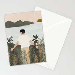 Natural connection / Connecting with nature / Wildlife Stationery Cards