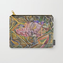 Rocky Abstract Carry-All Pouch