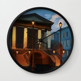 Charleston City Market Wall Clock