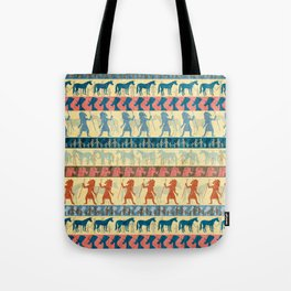 Egyptian Unicorn Pattern Tote Bag