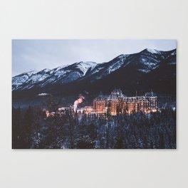 Banff Springs Hotel II Canvas Print