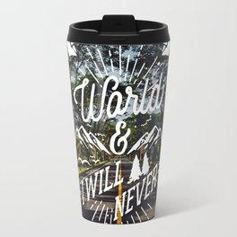 Frase Inspiradora Travel Mug