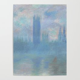 Monet, The Houses of Parliament, London, 1900-1093 Poster
