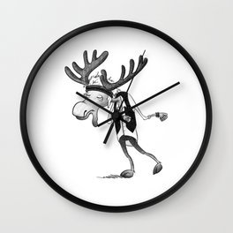 Mortimer Rasmussen Wall Clock