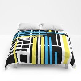 geometric art 1 Comforters