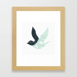 Bipolar Bird Framed Art Print