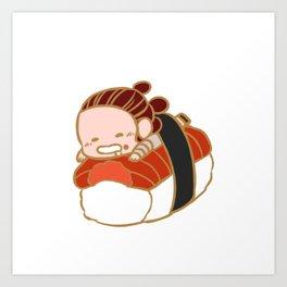 Reylo Sushi #2 Art Print