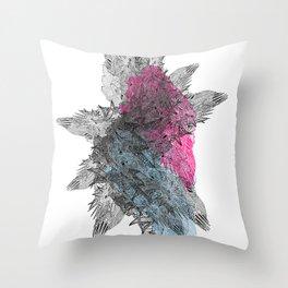 Die Seltsam (runde funf.) Throw Pillow