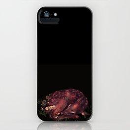 Deer Dear Deer iPhone Case