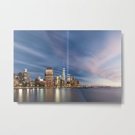 Tribute in Lights Metal Print