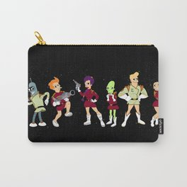 Nimbus Crew: Leela, Fry,Bender, Amy,Kif and Zapp Carry-All Pouch