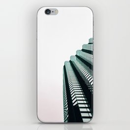 chicago look up architecture urban photography iPhone Skin
