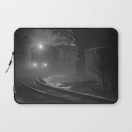 Train In The Fog Laptop Sleeve