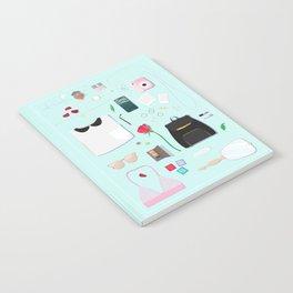 Modern Aphrodite Flat Lay Notebook