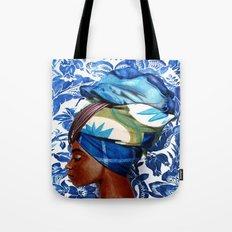 Turban lady Tote Bag
