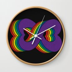 Infinite Love Wall Clock