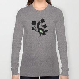 Louisiana - State Papercut Print Long Sleeve T-shirt