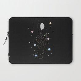 Spotlight - Moon Phase Illustration Laptop Sleeve