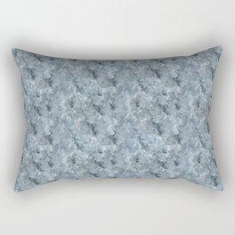 Light Blue Celestite Close-Up Crystal Rectangular Pillow
