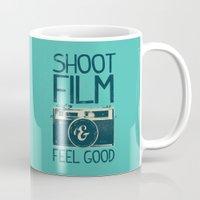 film Mugs featuring Shoot Film by Victor Vercesi