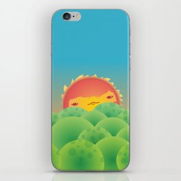 Sunlit Hills iPhone Skin