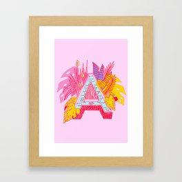 Jungle Fever A Framed Art Print