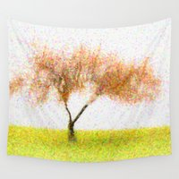 tree of life Wall Tapestries featuring Life Tree by Joao Bizarro