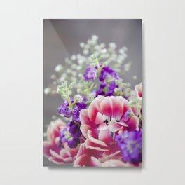 Tulip Blooms  |  Botanical Metal Print