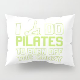 I Do Pilates To Burn Off The CRAZY Pillow Sham