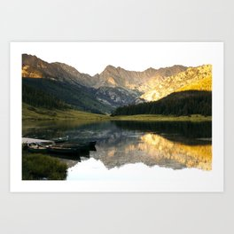 Its the little things, Piney Lake Colorado Art Print